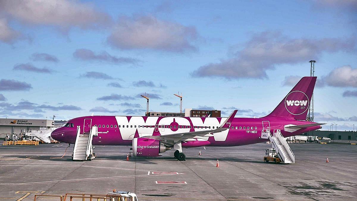 WOW Air突然停業。網圖
