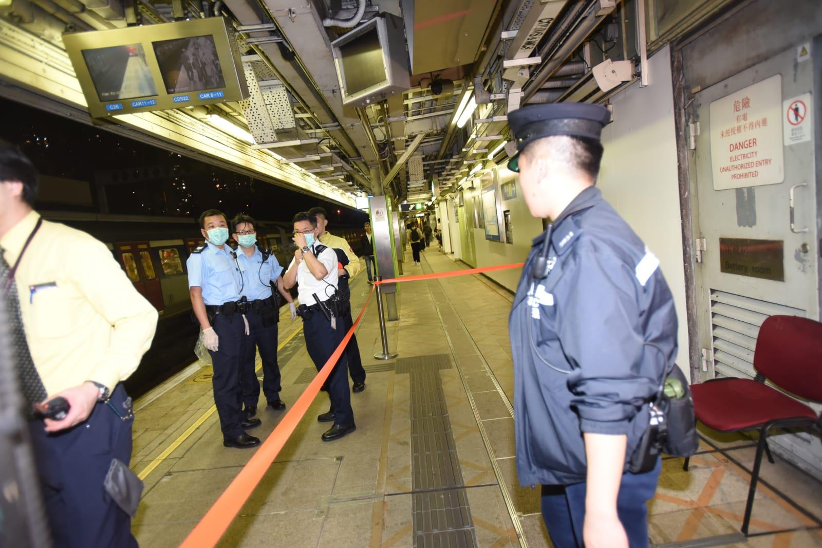 警員接報到場,事主當場被證實死亡。