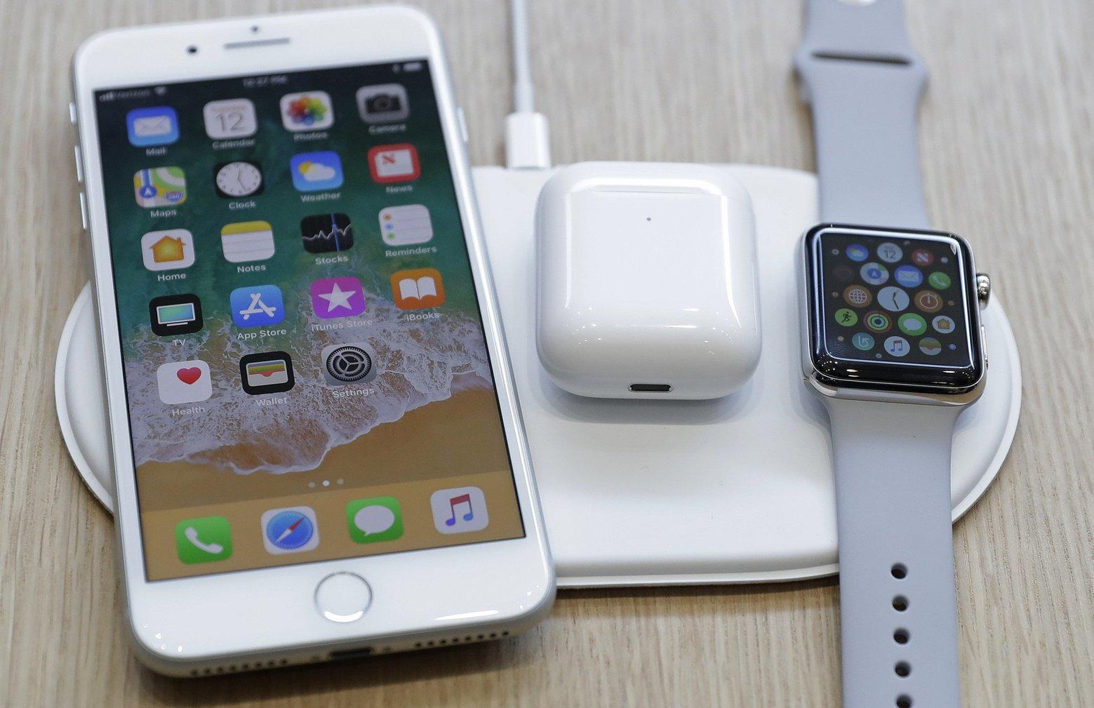 苹果公司证实,将无法如期推出外界期待已久的无线充电器AirPower。 美联社图片