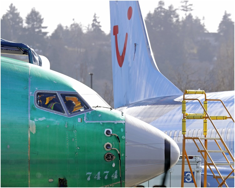 埃航空难后全球已停飞波音737 MAX 8型号的客机。