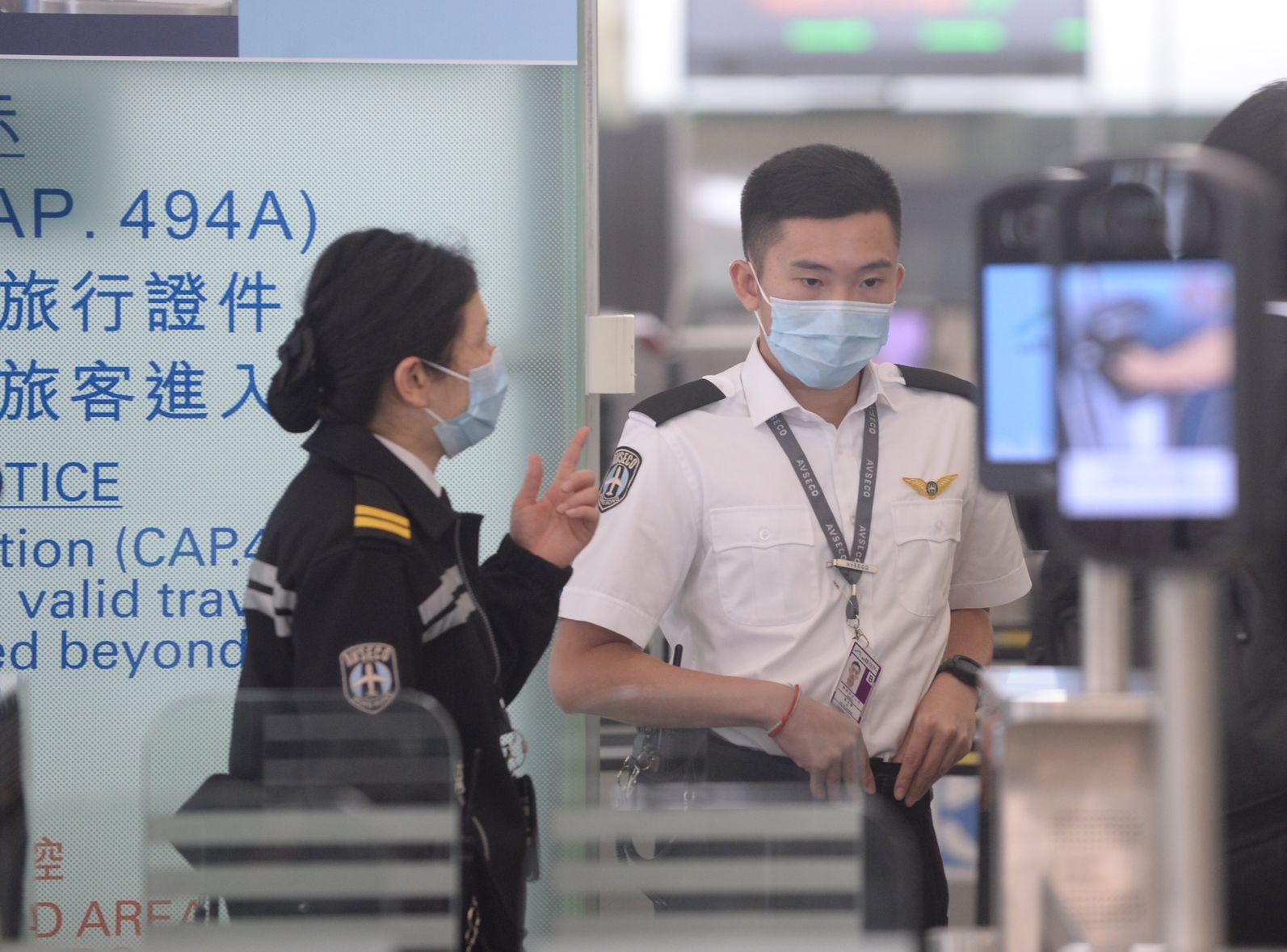 衞生防護中心今起,只限於為最有需要的機場員工,接種麻疹疫苗。 資料圖片