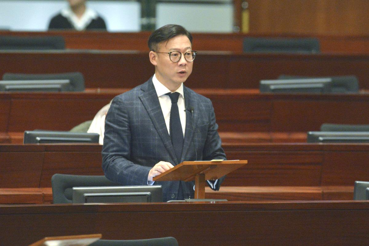 張國鈞指修訂逃犯條例生效需經立法。資料圖片