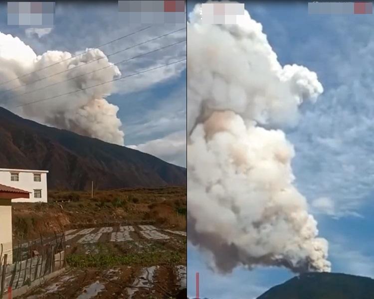 凉山州山火至今仍未被救熄。網圖