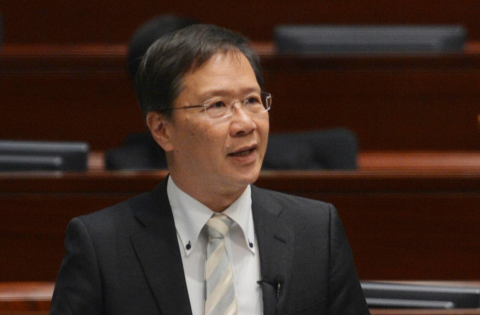 郭家麒批評當局安排混亂。 資料圖片