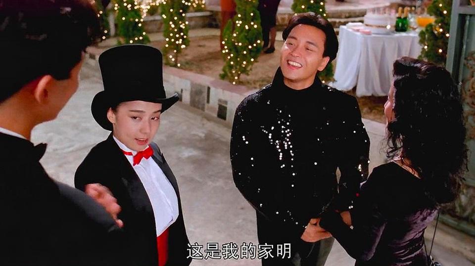 袁文傑在《家有囍事》中飾演「家明表哥」。