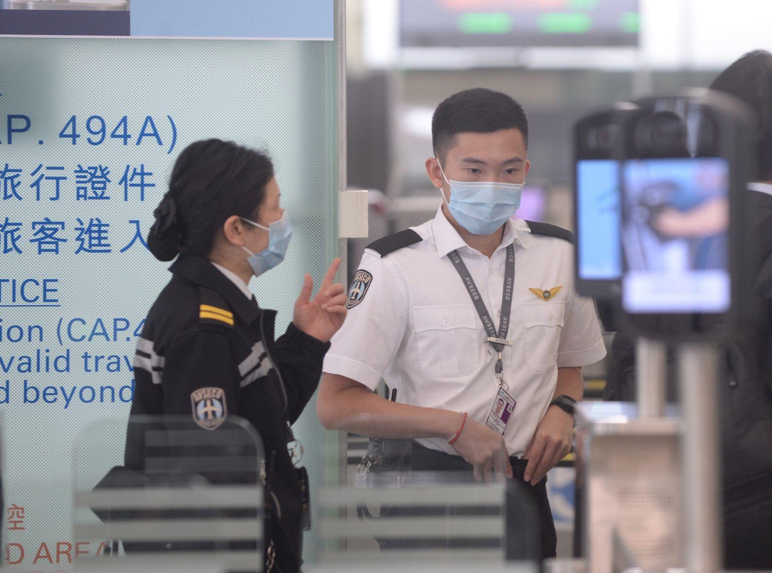 新增的3宗麻疹个案均在香港国际机场工作。资料图片