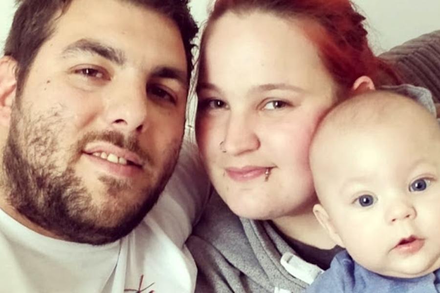 英国一对新手父母的6个月大儿子在睡梦中猝死。 网试图片