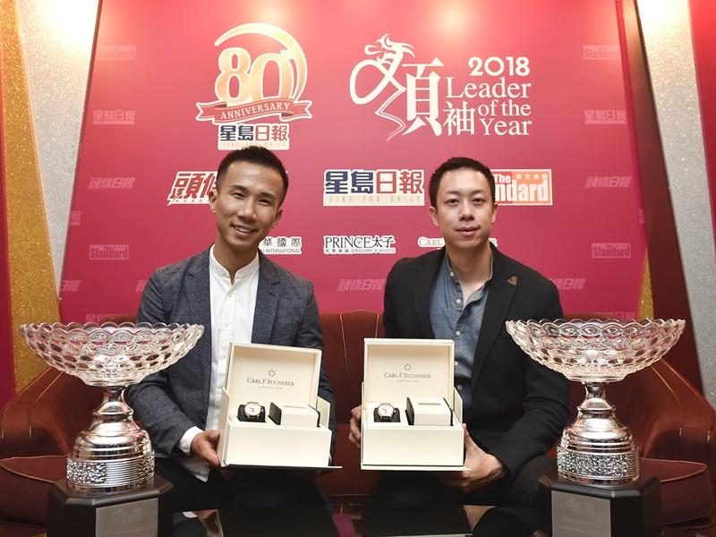 客路聯合創辦人林照圍(左)和王志豪(右)。