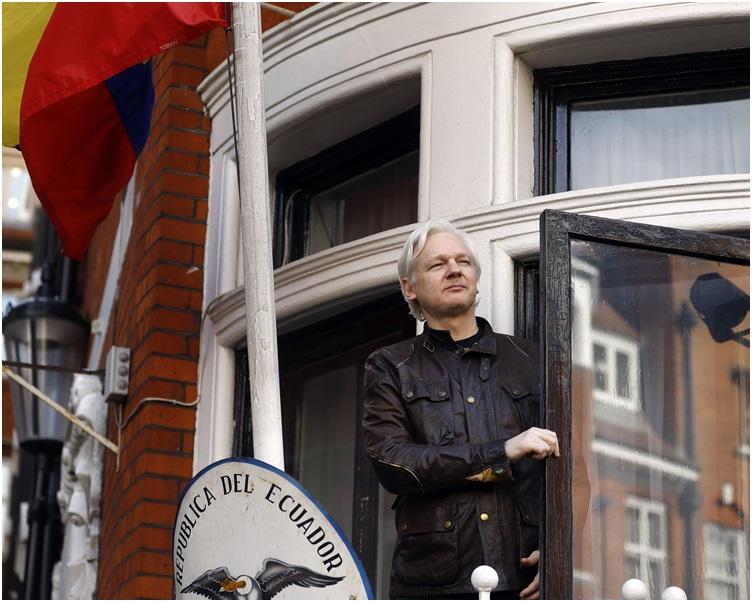 阿桑奇已匿藏在瓦瓜多尔驻伦敦大使馆7年。
