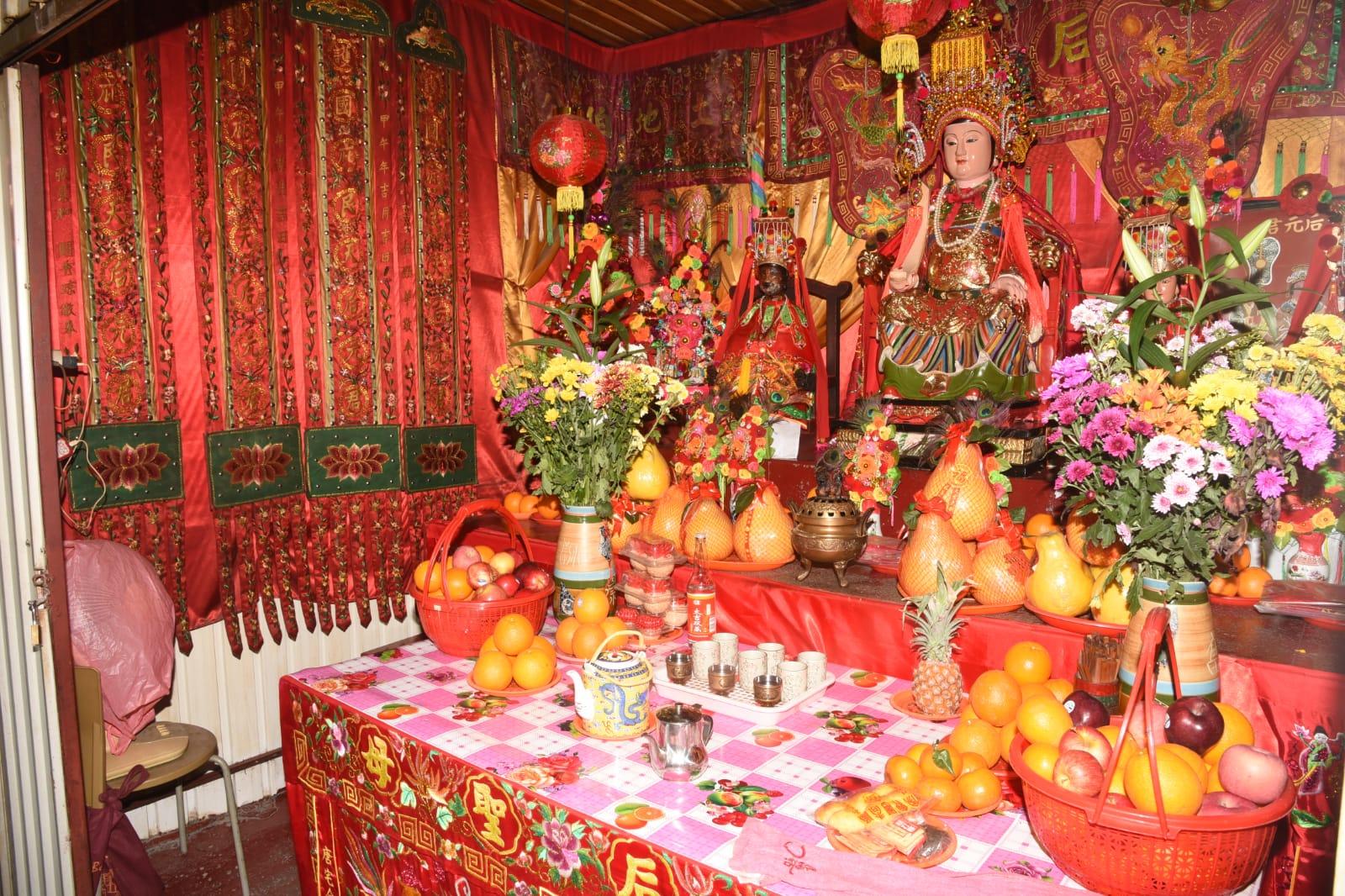 廟祝指這間天后廟有30年歷史。