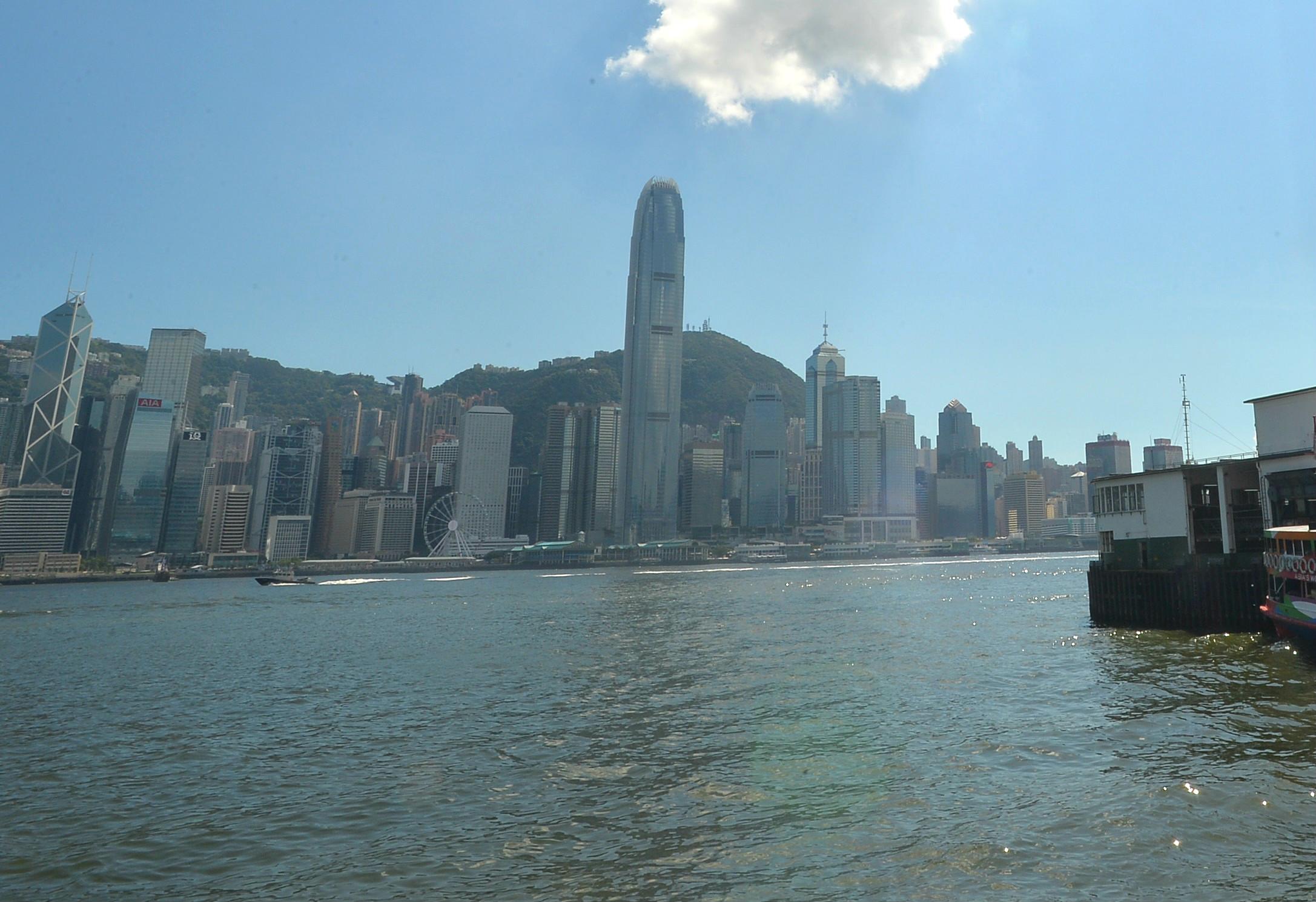 香港政府重申一国两制全面成功落实。资料图片
