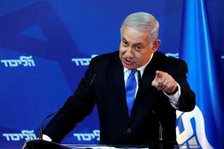 以色列总理内塔尼亚胡。资料图片