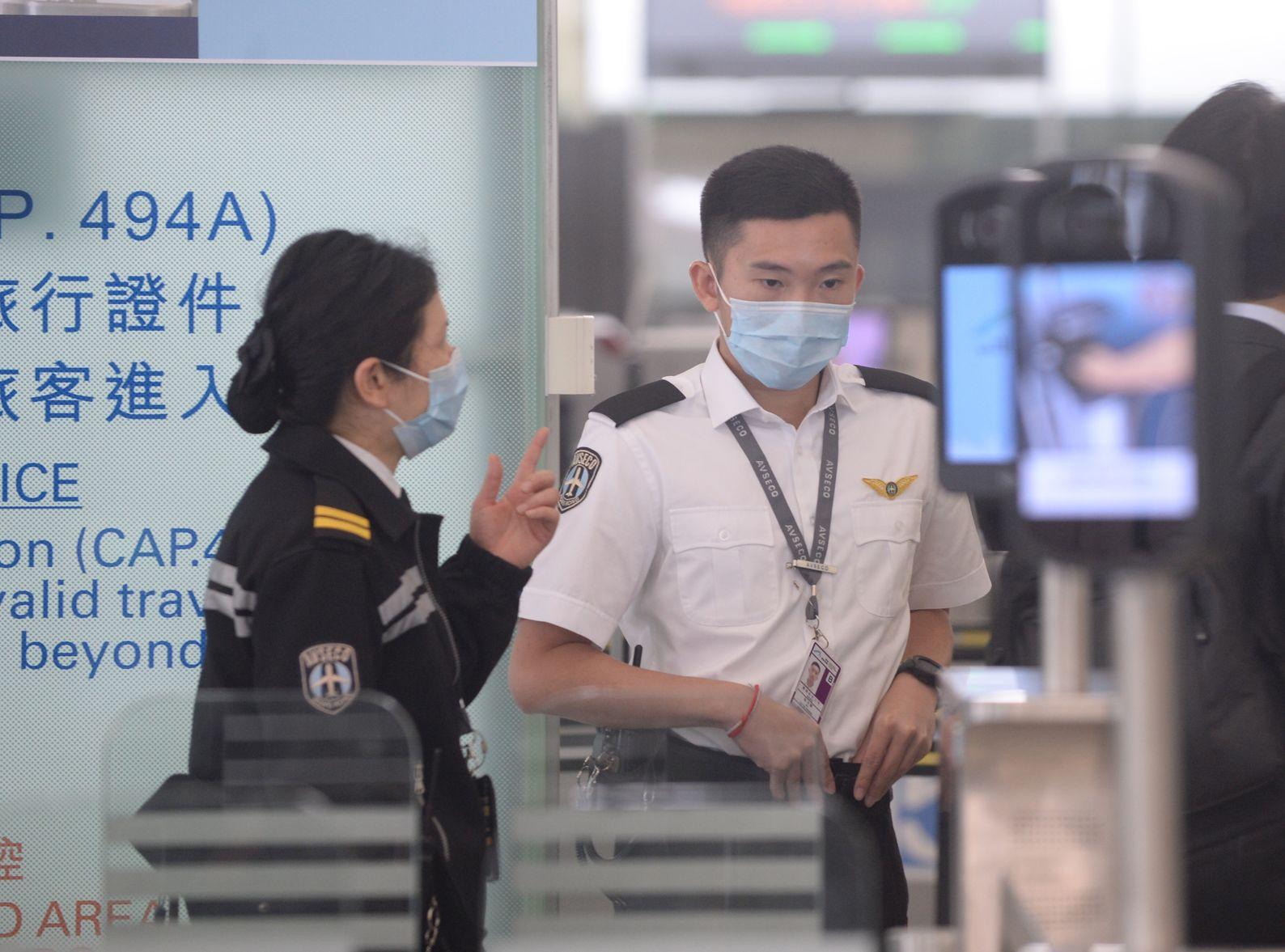 再有一名30歲機場男員工確診麻疹。資料圖片