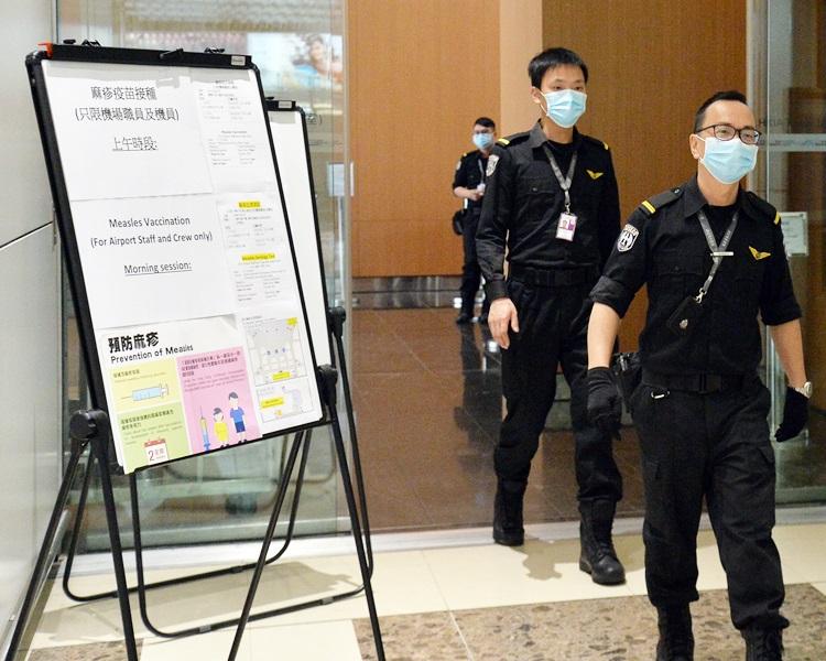 本港今年累積的麻疹個案增至56宗。