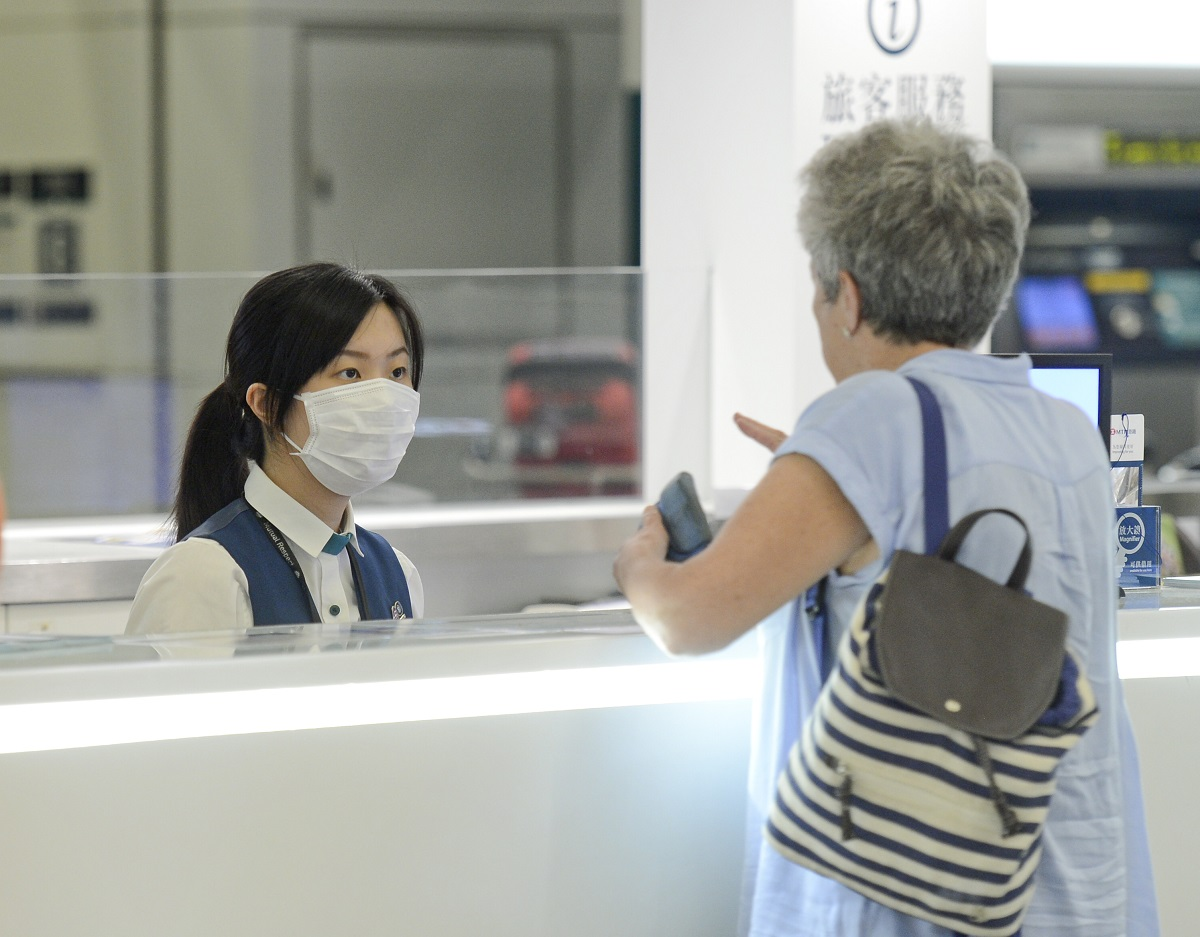 機場繼續成麻疹重災區。資料圖片