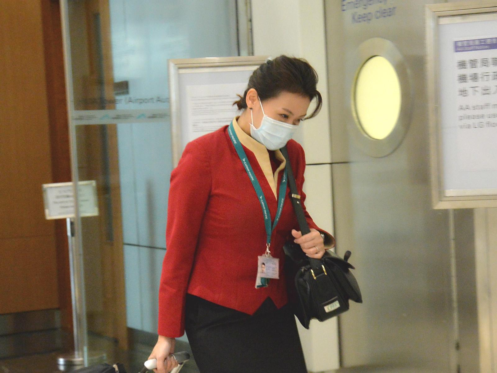機場7977名員工已打麻疹疫苗。資料圖片