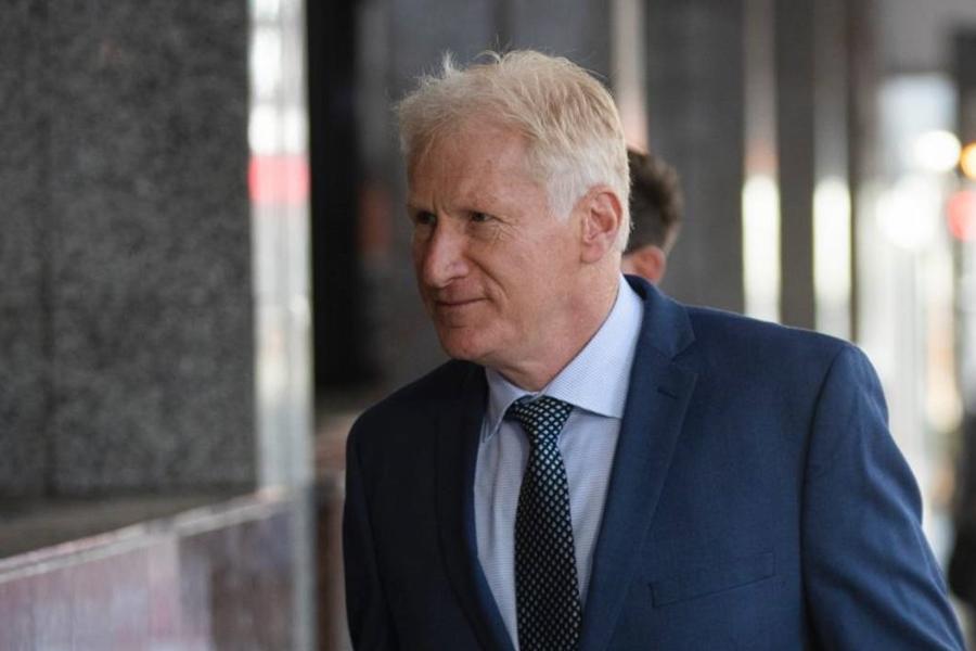 新西兰驻华盛顿大使馆前任武官基廷(Alfred Keating)。 网上图片
