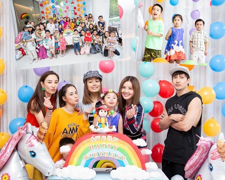 亞浸4歲生日會,所有愛錫她的人都來到賀。(ig圖片)