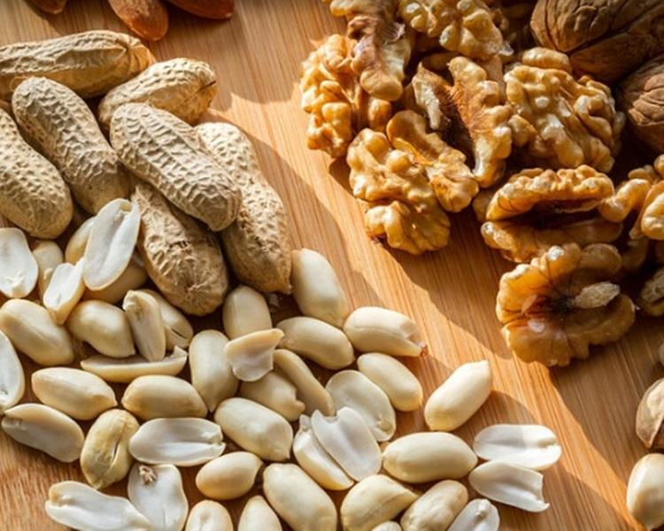 花生、堅果是本港常見食物敏感源。網圖