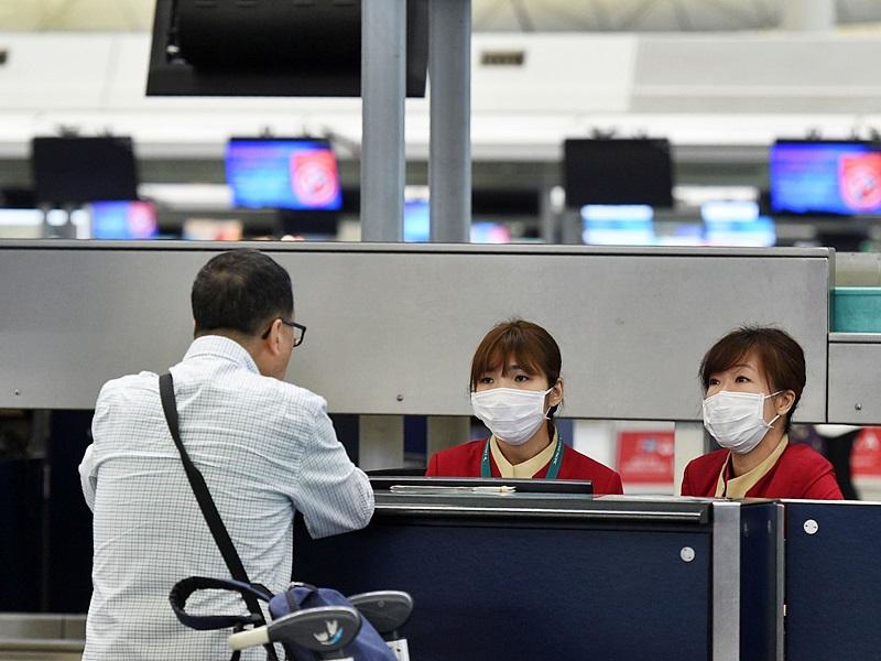 再有机场工作的职员感染麻疹。资料图片
