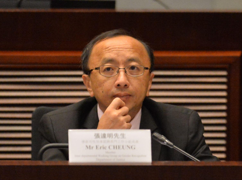 張達明表示,對修訂《逃犯條例》的擔心有增無減。資料圖片