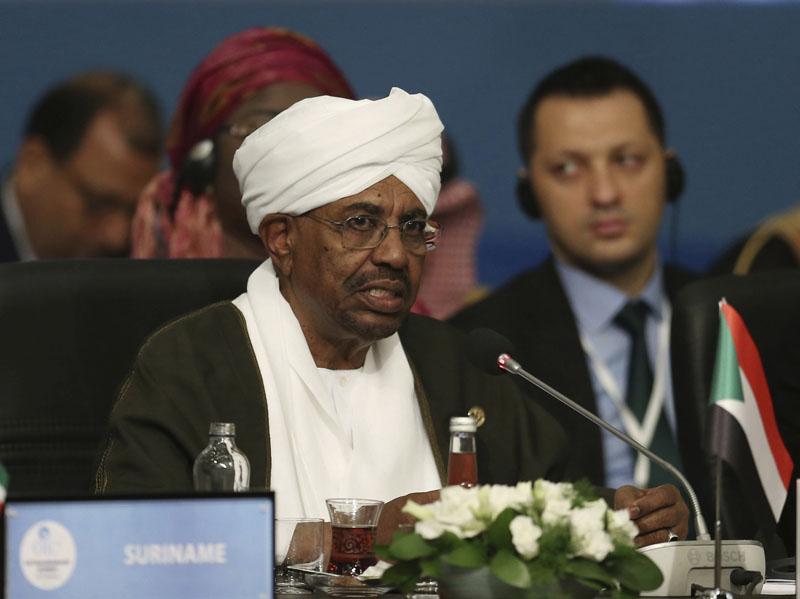 蘇丹軍方宣布罷免總統巴希爾(圖)。AP