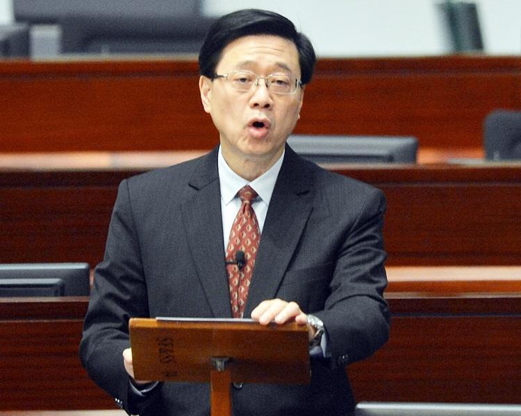 李家超表示會盡量爭取立法會支持政府的修訂方案。