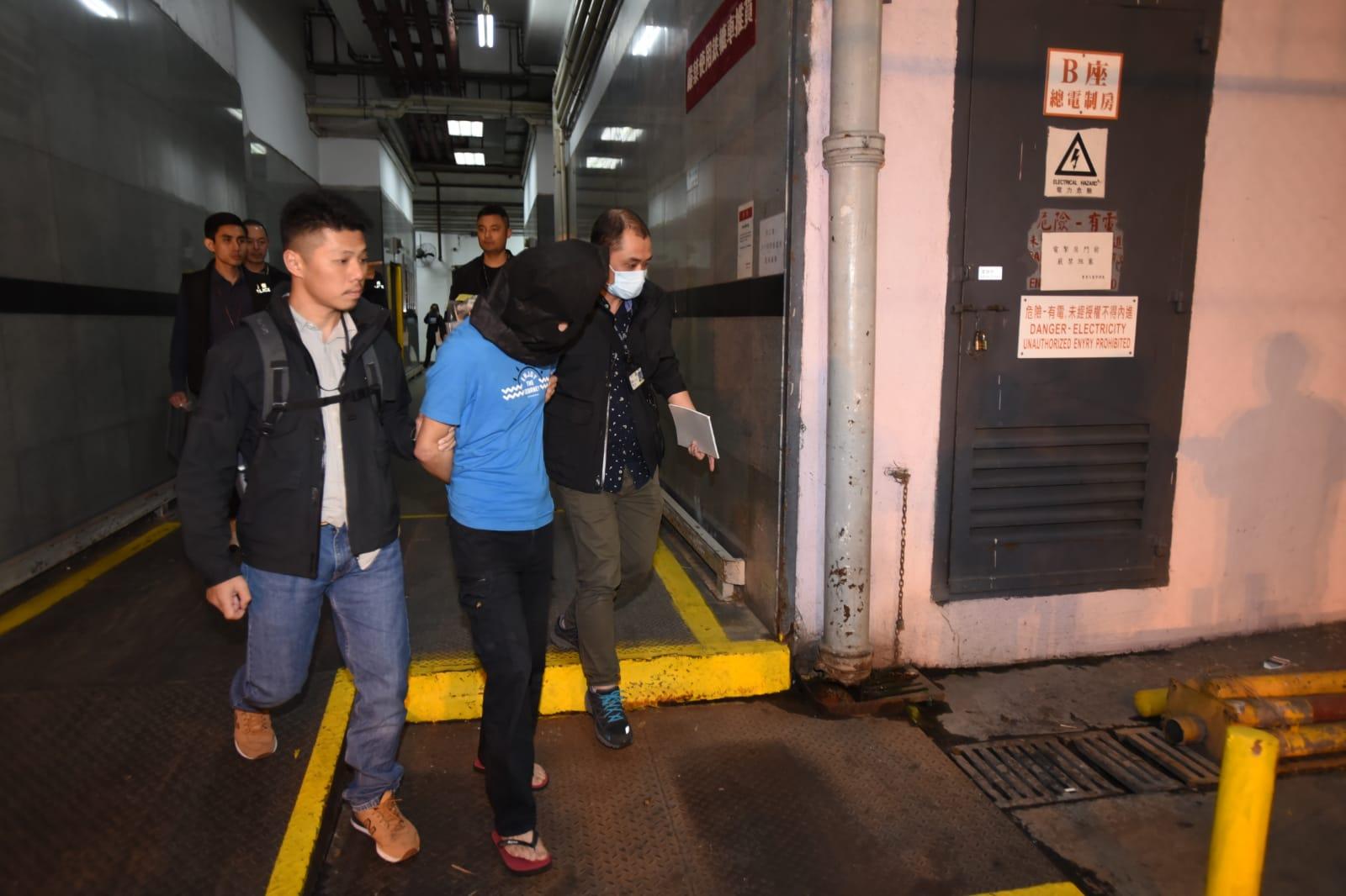 警方重案组拘捕1名男子