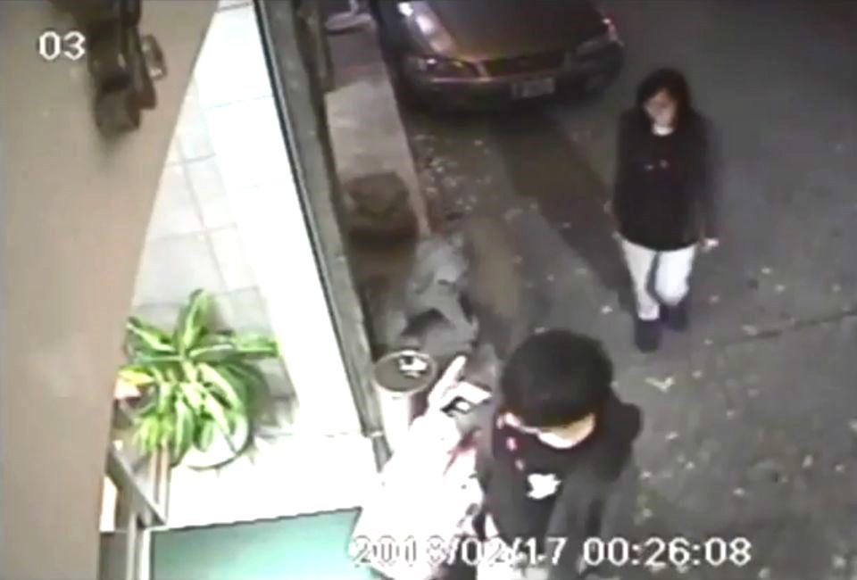 20歲香港女子潘曉穎(後)2018年2月與19歲男友陳同佳(前)到台灣旅遊後被殺棄屍。