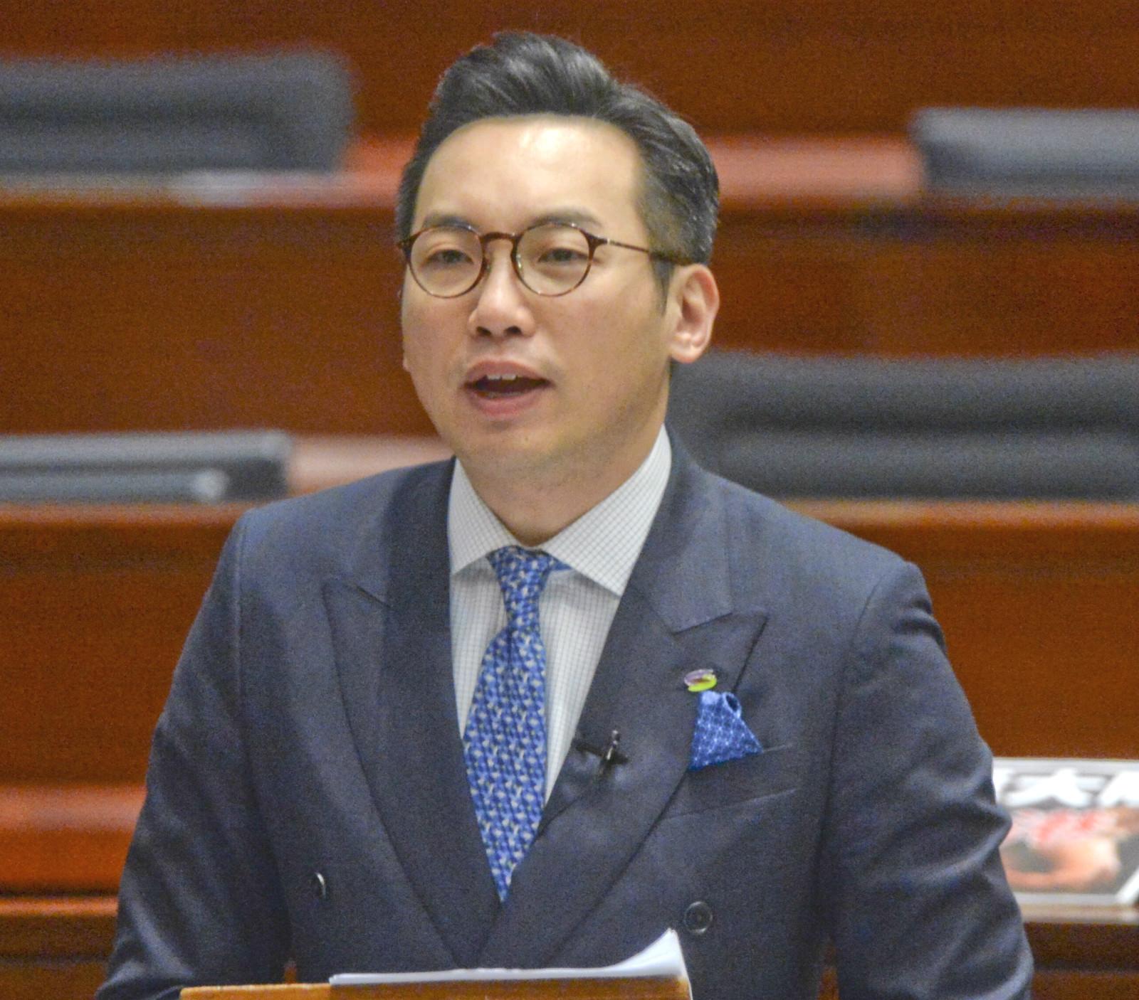 楊岳橋指若《逃犯條例》修例只限台灣料獲通過。資料圖片