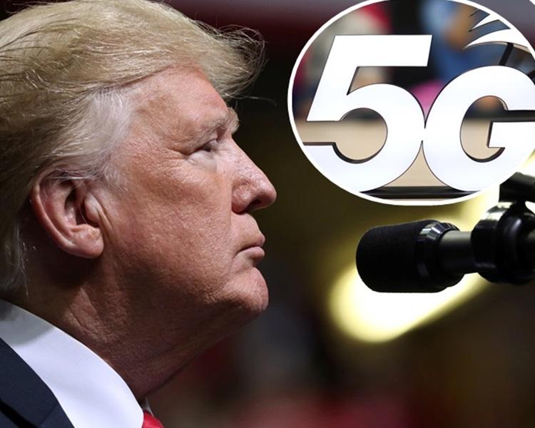 特朗普以「敌人」来形容5G竞争对手。