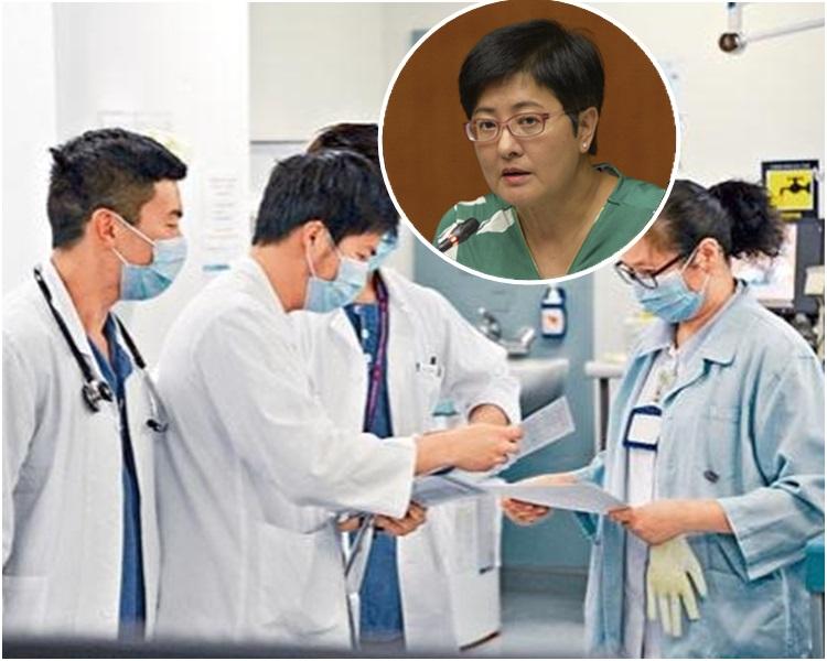 黃碧雲表示,民主黨不排除提出私人條例草案,修訂醫生註冊條例。