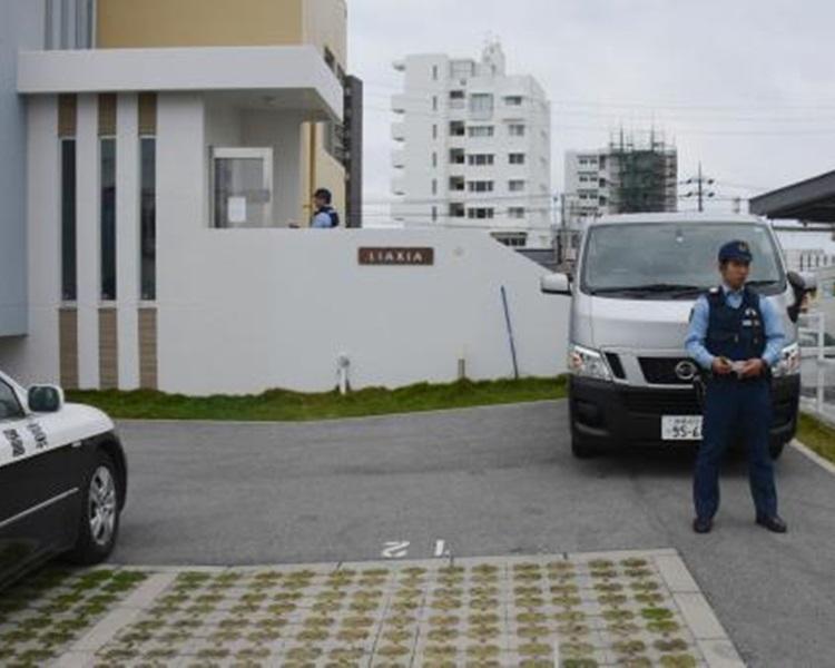 沖繩一公寓發生雙屍命案。網圖