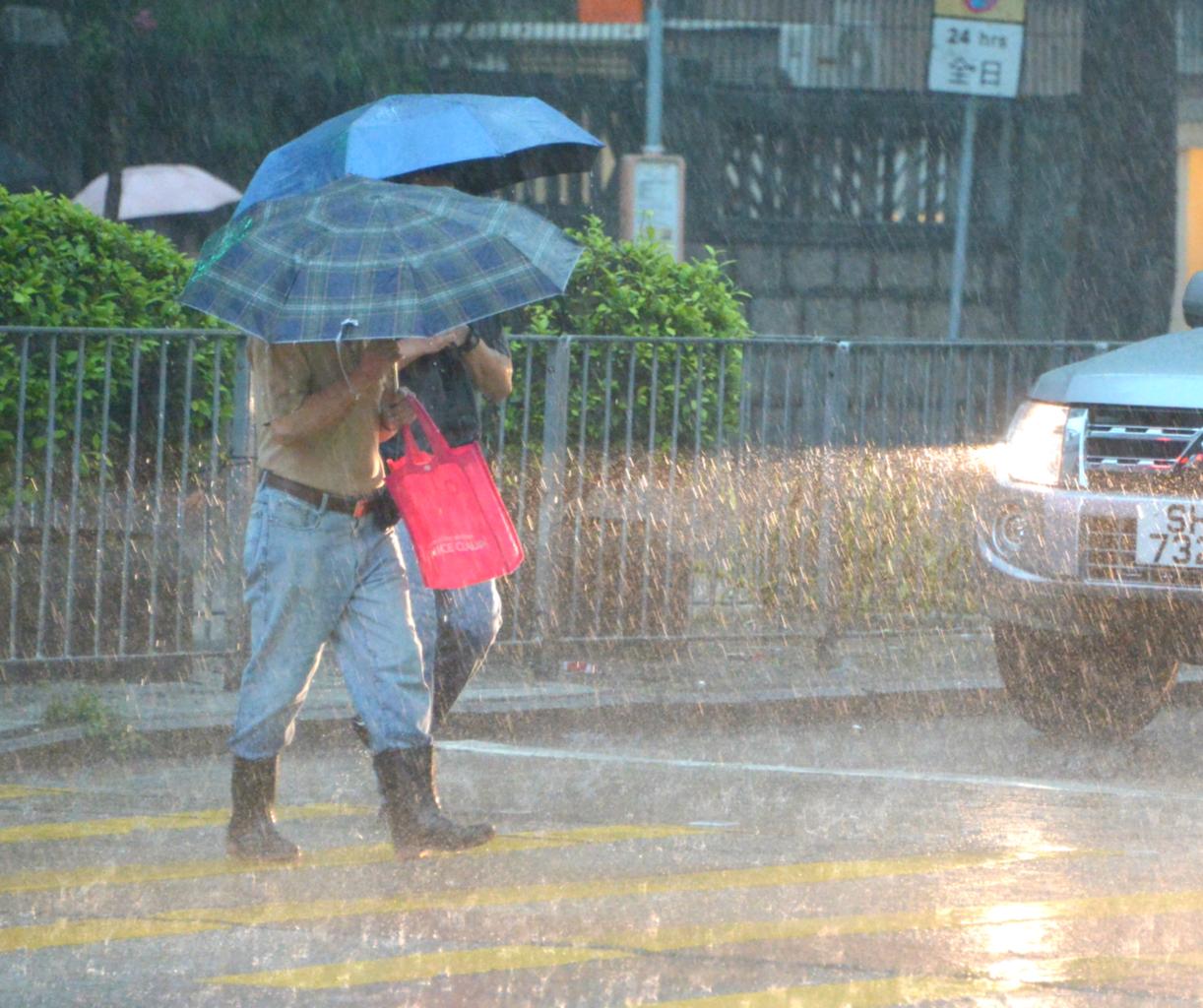 预测星期二雨势颇大。资料图片