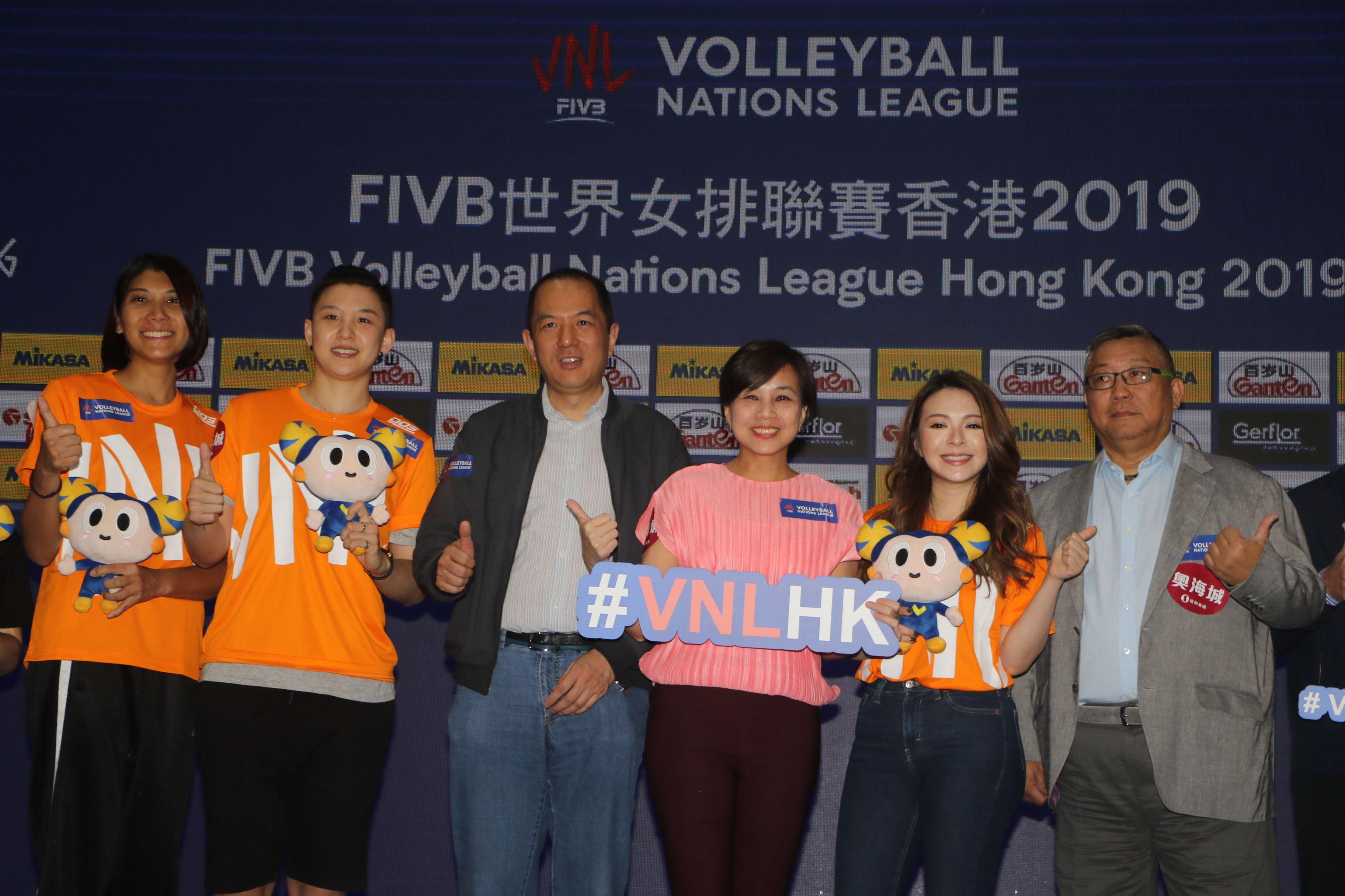 由郎平領軍的中國將與日本、意大利和荷蘭會師世界女排聯賽香港站。王嘉豪攝