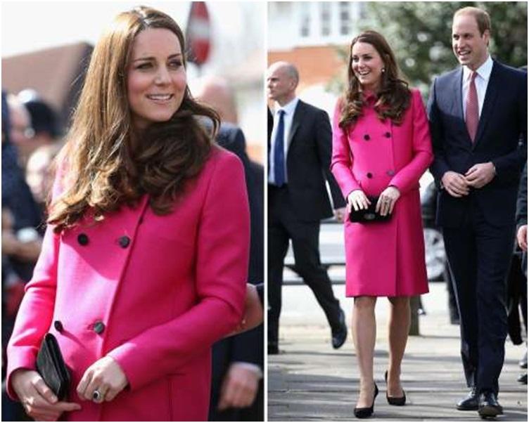 傳媒爆料威廉疑趁凱特懷孕出軌。 AP