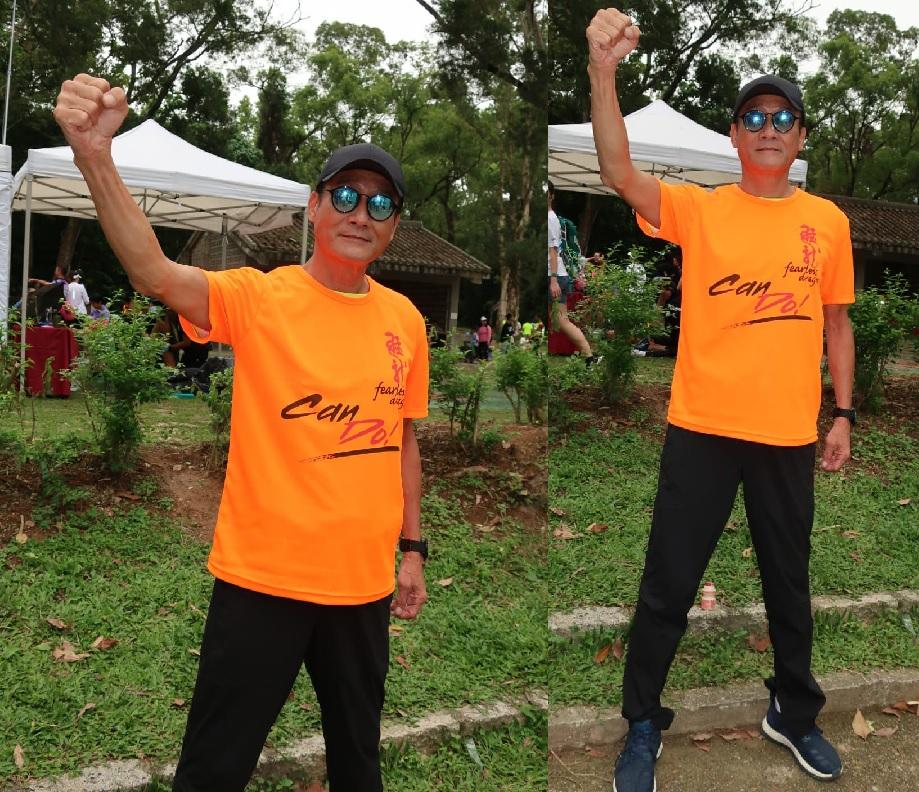 梁家輝人生第一次做領跑員。