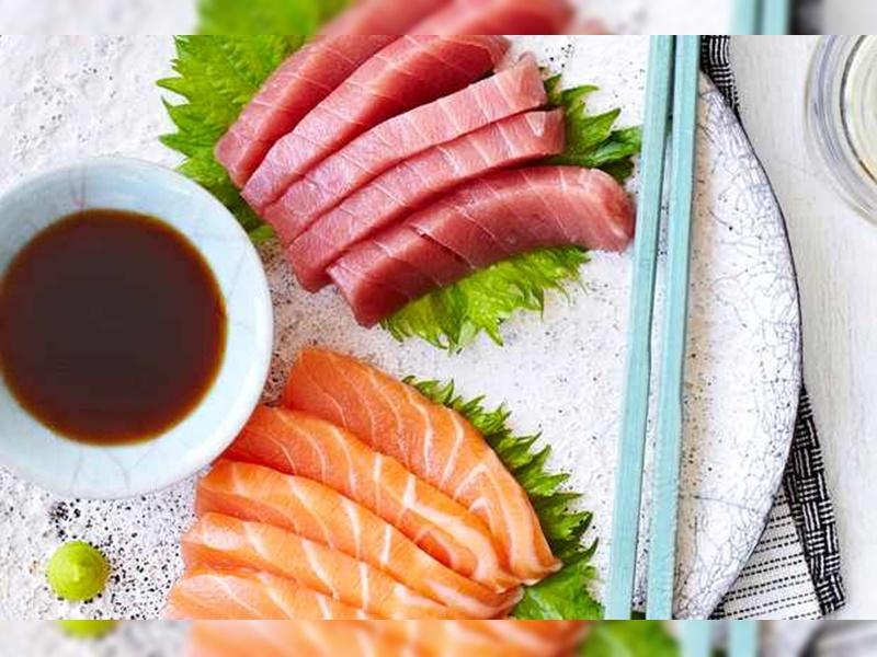 測試包括19款吞拿魚及31款三文魚刺身樣本。網上圖片