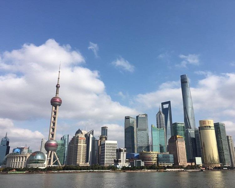 上海是其中一個熱門打卡消費的城市。網圖