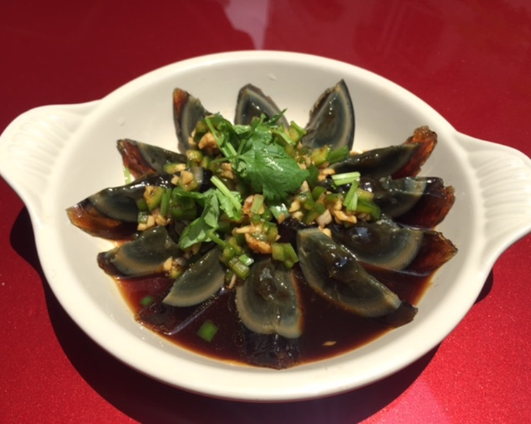 中國特色食品皮蛋不受外國人歡迎。網圖
