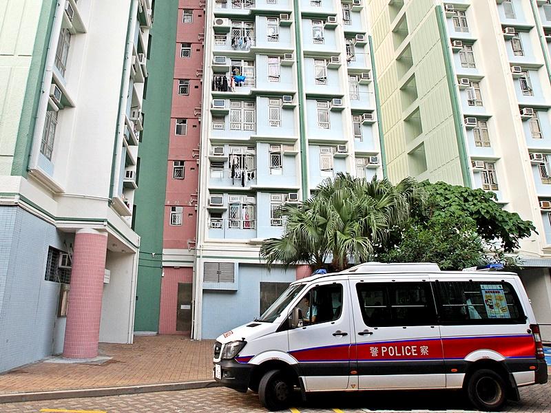逸東邨一名丈夫涉刑事恐嚇妻子被捕。資料圖片