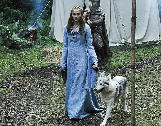 臨冬城城主兼Stark家族長女Sansa Stark。