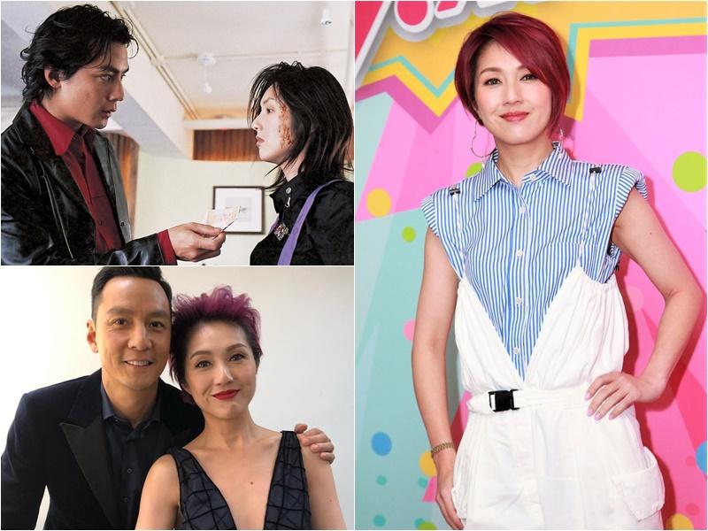 楊千嬅與吳彥祖在金像獎上碰面,感受特別深。