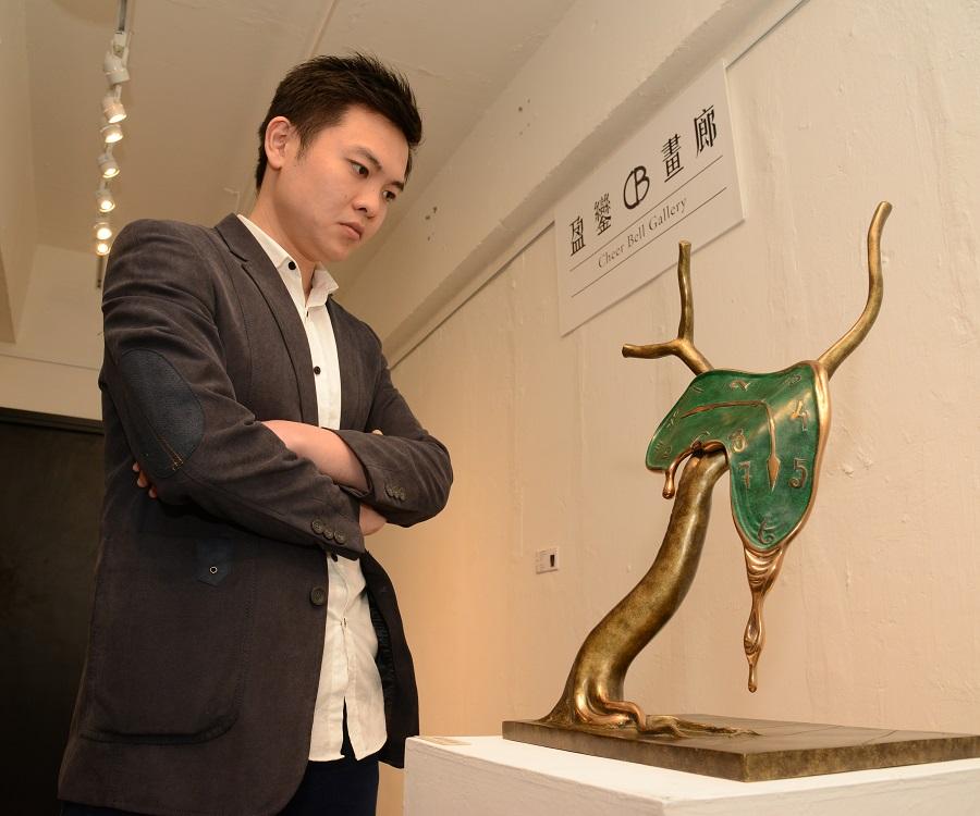 林沙洲表示,年輕收藏家於近兩三年突然冒起,更具備相當的購買力。