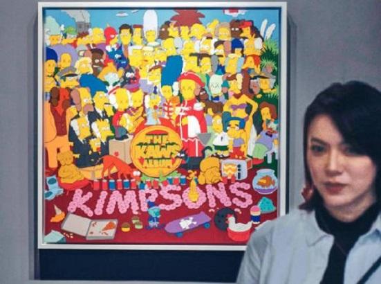 美國藝術家畫作《THEKAWSALBUM》本月在港錄得逾億元的天價成交。