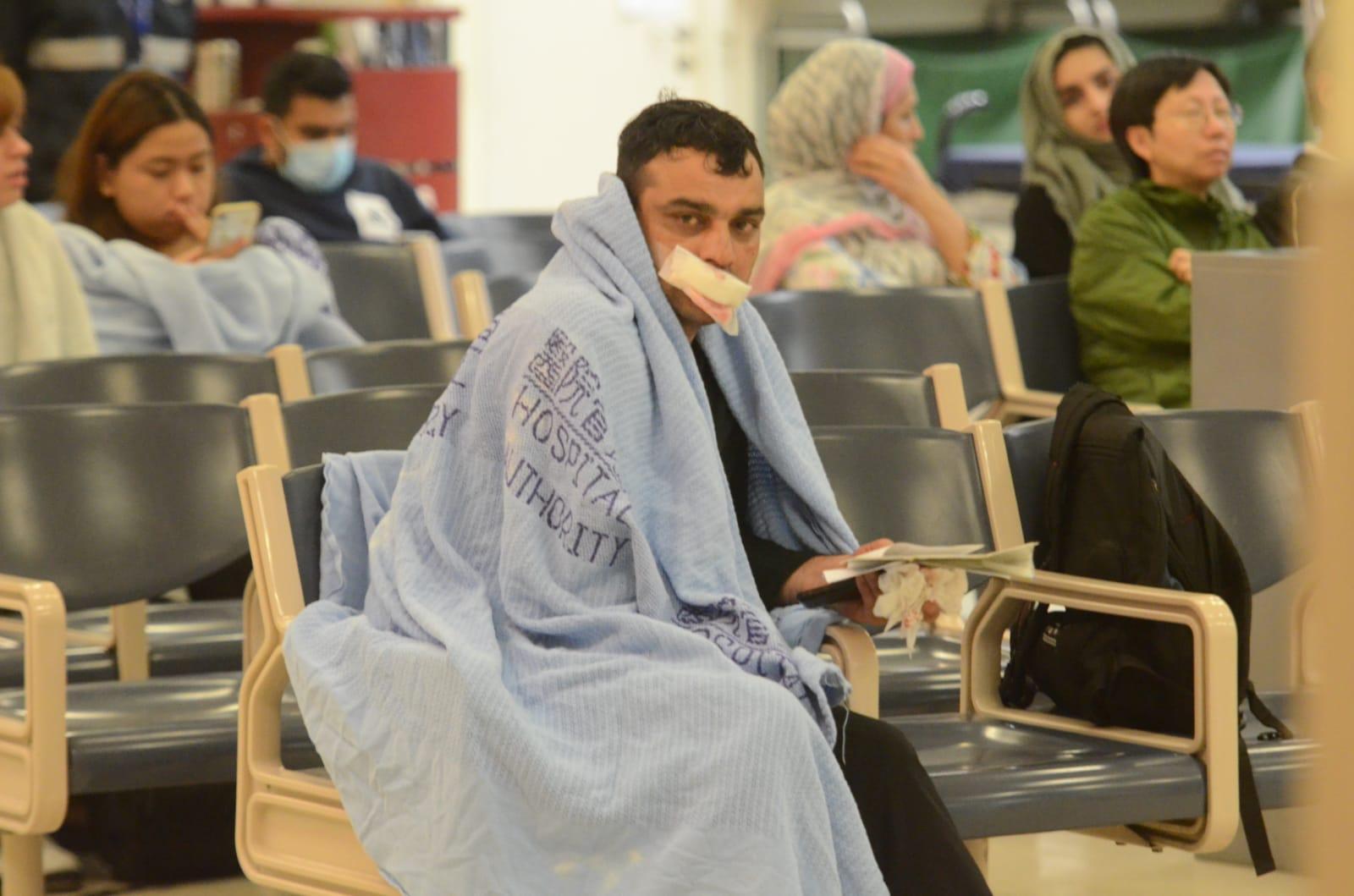 巴基斯坦男子被打傷。