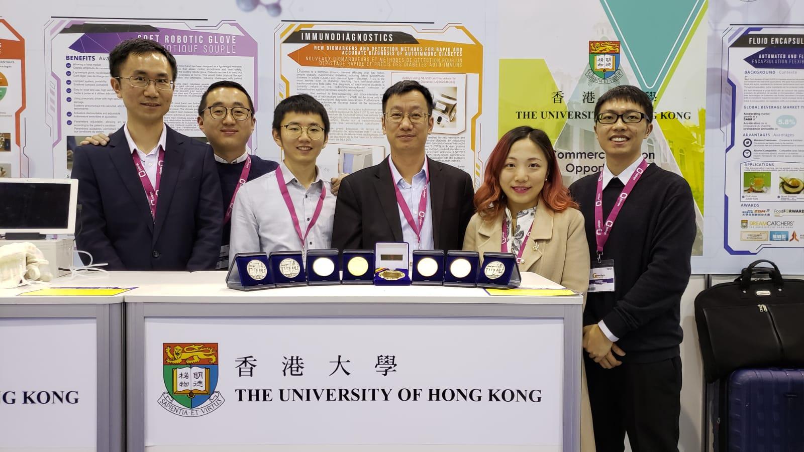 香港大學發明的透明導電膜獲評判特別嘉許金獎。