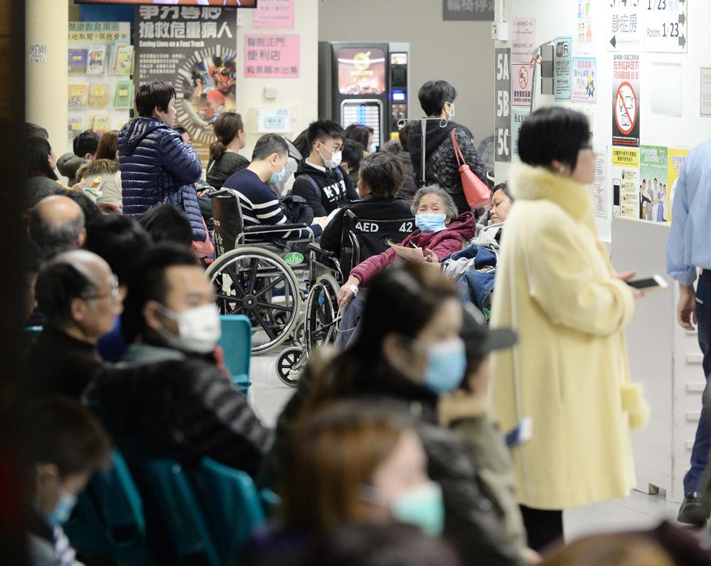 昨日有6506人次到公立醫院急症室求診。 資料圖片