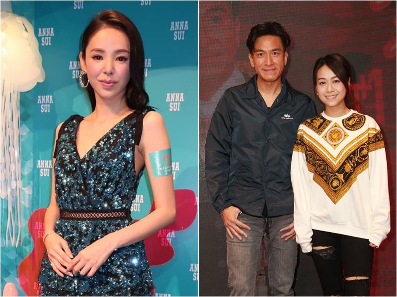 譚凱琪(左圖)讚馬國明是「暖男」。