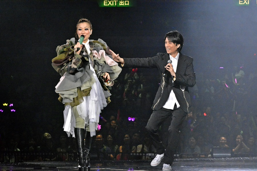 黃子華曾形容許志安與鄭秀文是「香港最後一個童話」。資料圖片